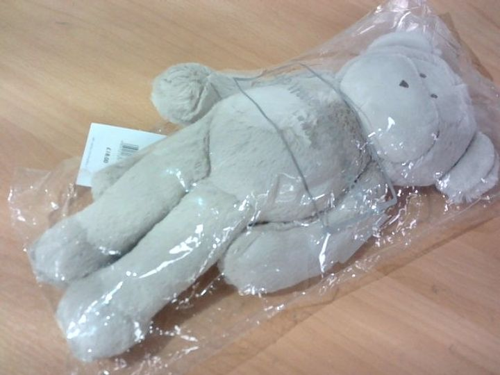 THE LITTLE WHITE COMPANY LONDON MARCELLE MONKEY SOFT TOY