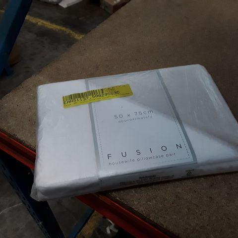 BANEK 100% COTTON ENVELOPE PILLOWCASE - 50 X 75CM APPROXIMATELY