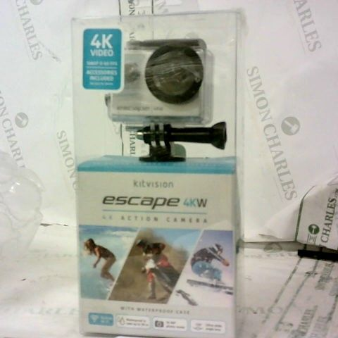 ESCAPE 4KW WITH BUILT-IN WIFI ACTION CAM