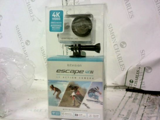 ESCAPE 4KW WITH BUILT-IN WIFI ACTION CAM RRP £99.99