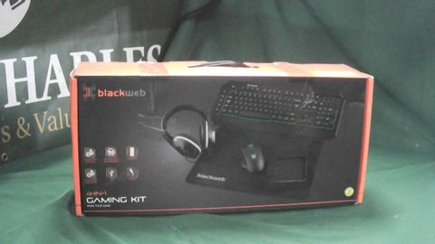 BLACKWEB 4 IN 1 GAMING KIT