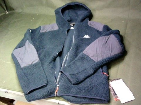 """MOUNTAIN EQUIPMENT """"MORENO"""" HOODED JACKET - SIZE L, BLUE"""