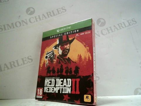 RED DEAD REDEMPTION II XBOX ONE GAME