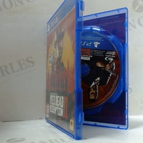 RED DEAD REDEMPTION II PLAYSTATION 4 GAME