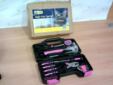 BOXED HYFIVE PINK TOOL SET