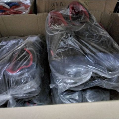 7 ASSORTED PAIRS OF STEEL TOE CAP TRAINERS