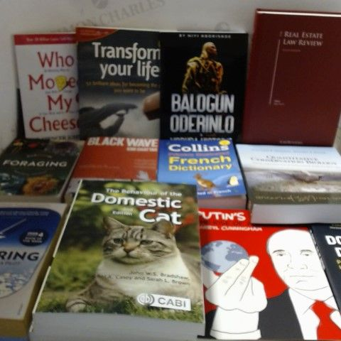LOT OF APPROXIMATELY 24 ASSORTED NON-FICTION BOOKS