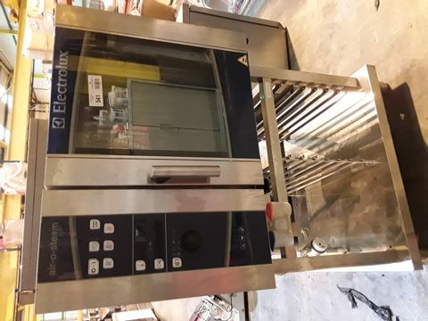 ELECTROLUX AIR-O-STEAM ELECTRIC OVEN ON STAND AOSO61EBK2