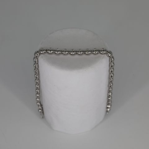 18CT WHITE GOLD LINE BRACELET SET WITH DIAMMONDS WEIGHING +0.72CT GOLD WEIGHT +20 GRAM