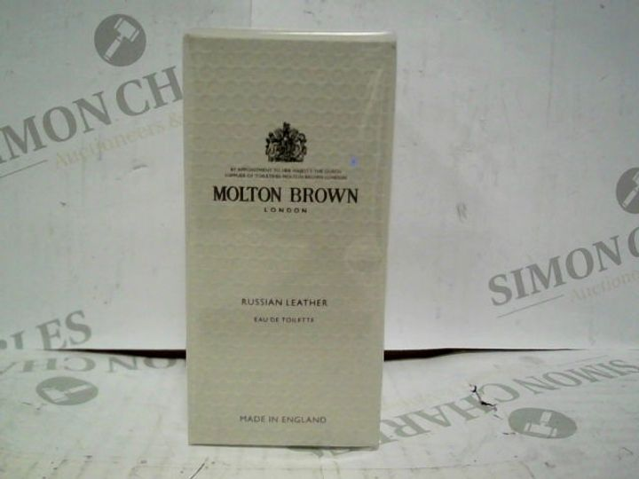 MOLTON BROWN LONDON RUSSIAN LEATHER EDT - 50ML - BRAND NEW SEALED