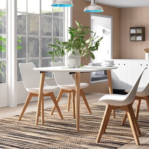 BOXED ELEONORA EXTENDABLE DINING TABLE (2 BOX)