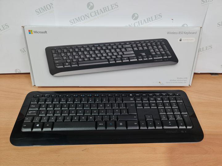 MICROSOFT WIRELESS 850 KEYBOARD - BLACK