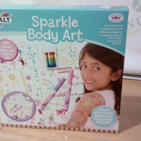 SPARKLE BODY ART BY GALT - BOX OF 5