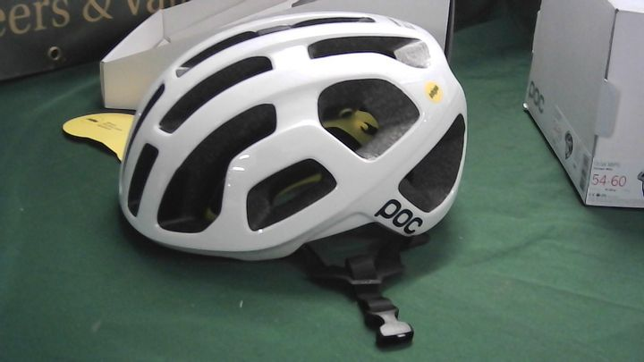 POC MIPS 54-60 WHITE CYCLE HELMET