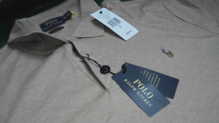 POLO RALPH LAUREN BEIGE T-SHIRT XL