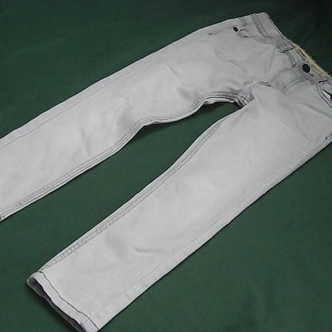 DEMIN CO SKINNY GREY JEANS 7/8 YEARS