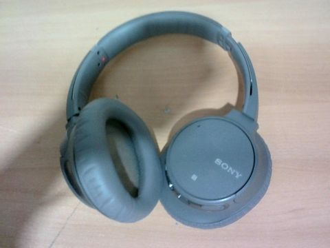 SONY WH-CH700N WIRELESS BLUETOOTH NOISE CANCELLING HEADPHONES - GREY