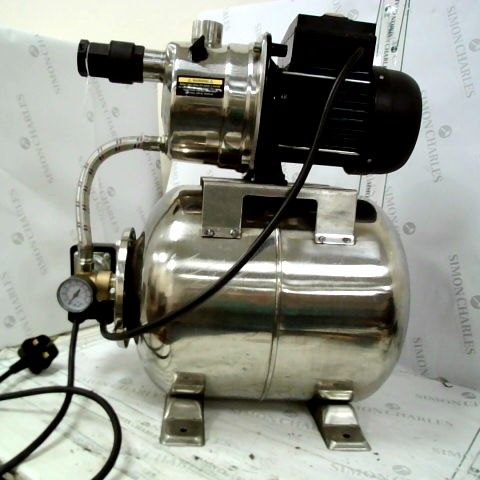 DRAPER 800W 230V STAINLESS STEEL BOOSTER PUMP