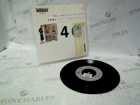 """SQUEEZE COOL FOR CATS 7"""" VINYL - BBC GRAMOPHONE LIBRARY"""