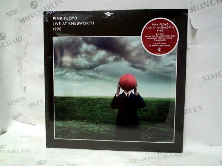 "PINK FLOYD LIVE AT KNEBWORTH 1990 2-LP 12"" VINYL"