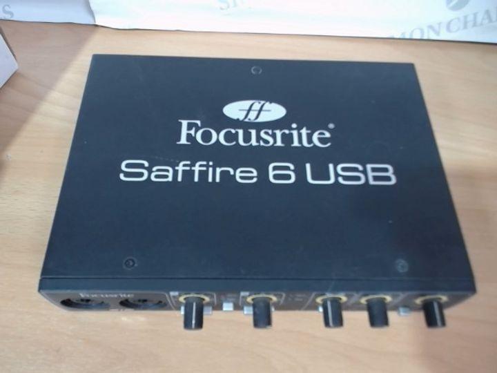 FOCUSRITE SAFFIRE 6 USB  - FA0525-01