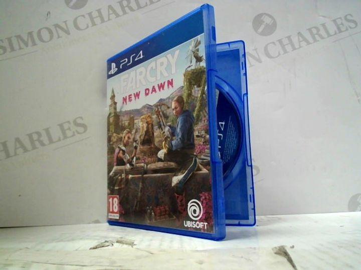 FAR CRY NEW DAWN PLAYSTATION 4 GAME