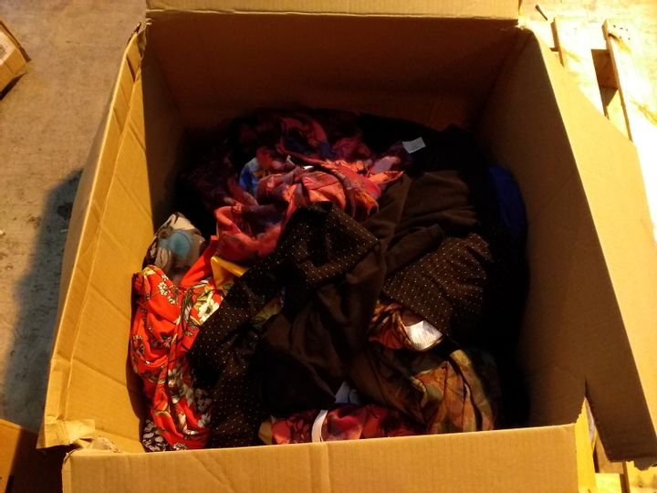 BOX OF 49 ASSORTED ITEMS OF CLOTHING