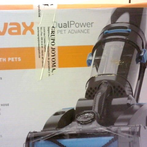 VAX DUAL POWER PET ADVANCE CARPET WASHER