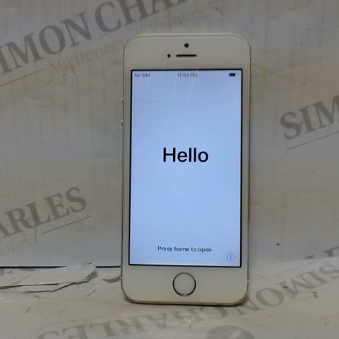 APPLE IPHONE 5S 16GB - UNLOCKED