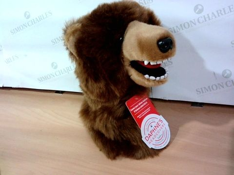 DAPHNE'S HEADCOVERS BEAR DRIVER COVER GOLF