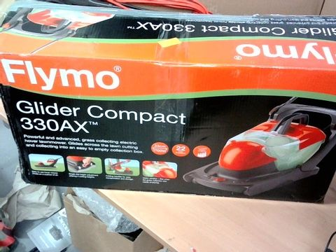 FLYMO GLIDER COMPACT 330AX ELECTRIC HOVER COLLECT LAWN MOWER