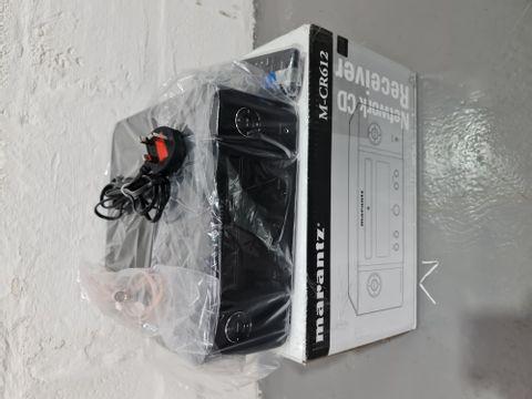 MARANTZ MELODY X M-CR612 BLUETOOTH CD RECEIVER - BLACK