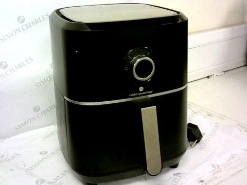 COOK'S ESSENTIALS AIR FRYER - BLACK