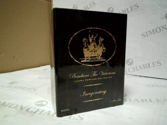 SEALED BOADICEA THE VICTORIOUS INVIGORATING PERFUME 50ML