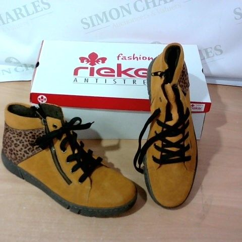 BOXED PAIR OF RIEKER  - SIZE 41
