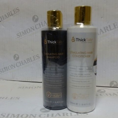THICK TAILS STIMULATING HAIR & CONDITIONER SET 2 X 250ML