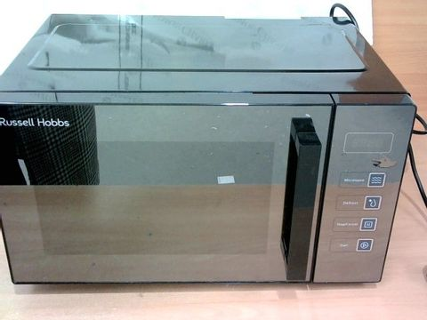 RUSSELL HOBBS EASI BLACK FAMILY SIZE FLATBED DIGITAL MICROWAVE