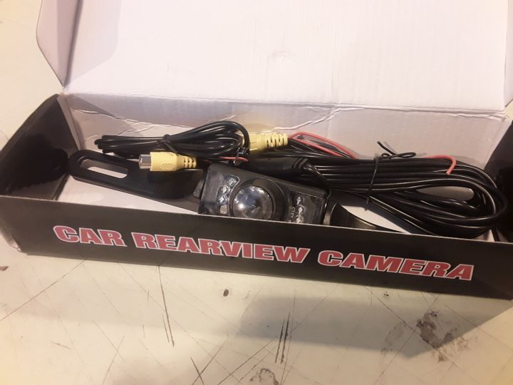 CAR REAR VIEW CAMERA, WIDE ANGLE, SUPER LOW ILLUMINATION & HIGH RESOLUTION