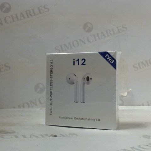 I12 TRUE WIRLESS EARBUDS