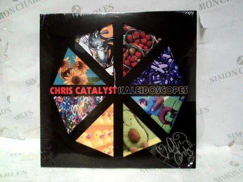 "CHRIS CATALYST KALEIDOSCOPES 12"" VINYL ALBUM - SIGNED"