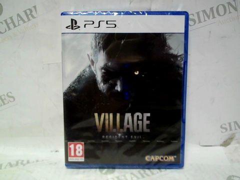 SEALED RESIDENT EVIL VII VILLAGE PS5 GAME