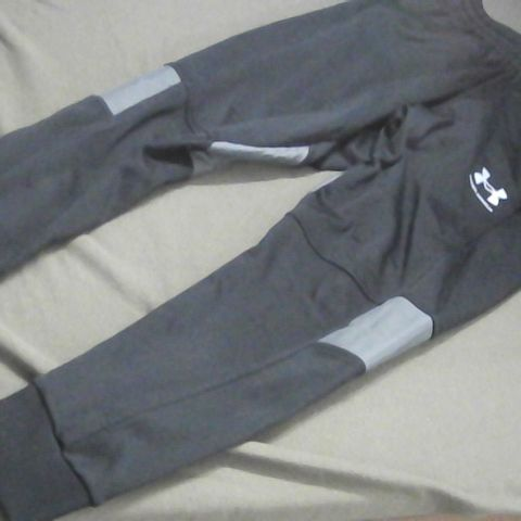 UNDER ARMOUR BLACK TRACKSUIT BOTTOMS SMALL