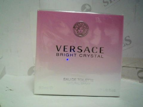 SEALED VERSACE BRIGHT CRYSTAL EAU DE TOILETTE -50ML