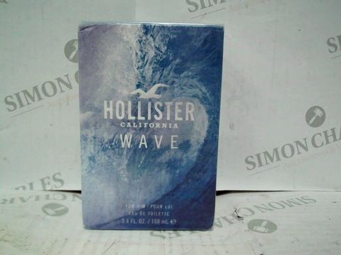 HOLLISTER CALIFORNIA WAVE FOR HIM EDT - 100ML - BRAND NEW SEALED