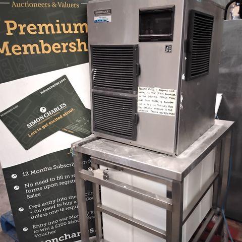 HOSHIZAKI ICE MAKER FM-480AKE-HCN WITH STAND & TROLLEY