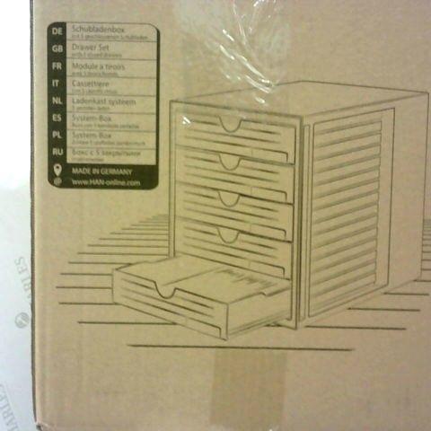 HAN 1450-64, DRAWER SET SYSTEM BOX