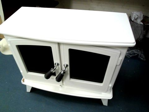 WOODHOUSE ELECTRIC STOVE IN WHITE