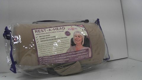 PUTNAMS REST A HEAD ARMCHAIR HEAD AND NECK SUPORT PILLOW