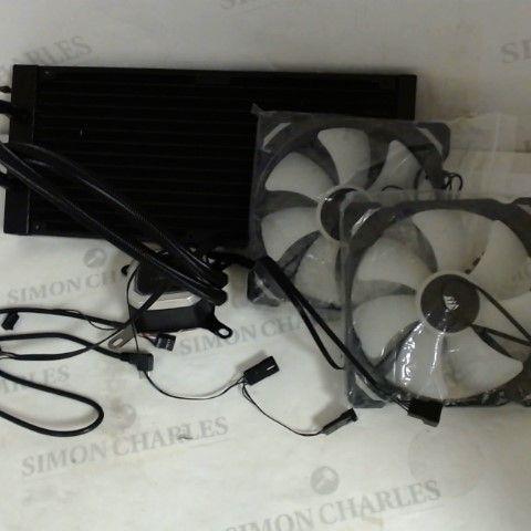 CORSAIR HYDRO 115I RGB PLATINUM, HYDRO SERIES LIQUID CPU COOLER - BLACK