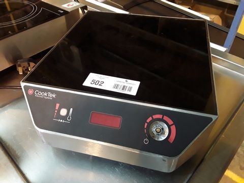 COOK TEC INDUCTION HOB MC3000